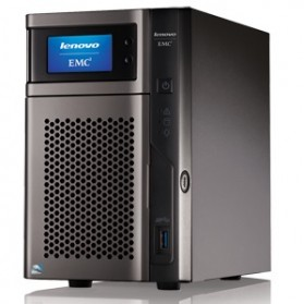 Lenovo EMC PX2-300D Network Storage - Black - 2