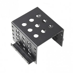 Woopower SSD HDD Mounting Bracket 2.5 Inch to 3.5 Inch 4 Bay - W4 - Black - 4