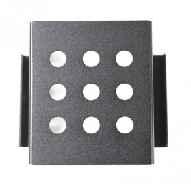 Woopower SSD HDD Mounting Bracket 2.5 Inch to 3.5 Inch 4 Bay - W4 - Black - 5