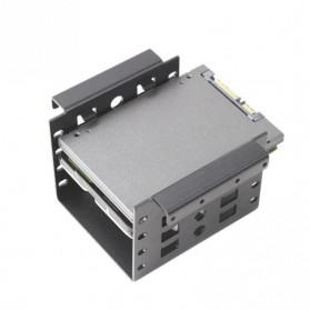 Woopower SSD HDD Mounting Bracket 2.5 Inch to 3.5 Inch 4 Bay - W4 - Black - 6