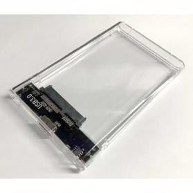 WEIXINBUY Hard Drive Enclosure 2.5 Inch USB 3.0 - WX537 - Transparent - 2