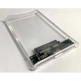 WEIXINBUY Hard Drive Enclosure 2.5 Inch USB 3.0 - WX537 - Transparent - 3