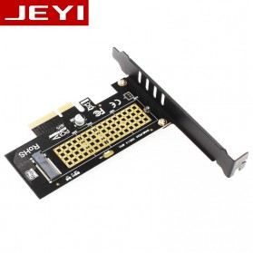 JEYI M.2 NVME to PCI-E 3.0 X4 Expansion Card - SK4 - Black - 3