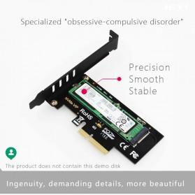 JEYI M.2 NVME to PCI-E 3.0 X4 Expansion Card - SK4 - Black - 11