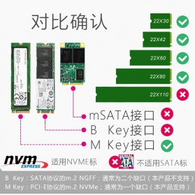 JEYI M.2 NVME to PCI-E 3.0 X4 Expansion Card - SK4 - Black - 12