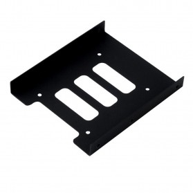 Storage Komputer PC / Laptop - Mounting Kit Untuk HDD/SSD 2.5 Inch ke 3.5 Inch - Black