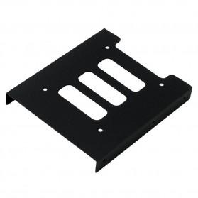HSEN Mounting Kit Untuk HDD/SSD 2.5 Inch ke 3.5 Inch - WSE091 - Black - 2