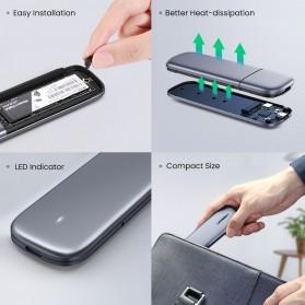 UGREEN NGFF SATA M.2 SSD to USB Type C 3.1 Adaptor Enclosure Box 6Gbps - 60355 - Gray - 8