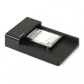 Orico 2.5/3.5 Inch Horizontal Mobile Hard Disk Seat USB 3.0 e-Sata - 6518SUS3 - Black - 3