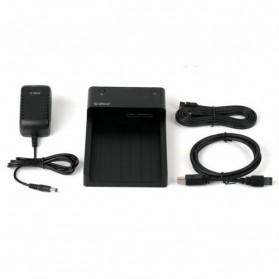 Orico 2.5/3.5 Inch Horizontal Mobile Hard Disk Seat USB 3.0 e-Sata - 6518SUS3 - Black - 5