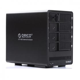 Orico 4-Bay 3.5 SATA HDD RAID Enclosure - 9548RU3 - Black