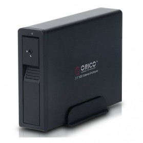 Orico 1-Bay 3.5 SATA HDD Enclosure - 7618SE3 - Black