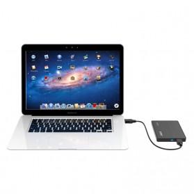 Orico 1-Bay 2.5 Inch External HDD Enclosure Sata 3 USB 3.0 - 2588S3 - Black - 5