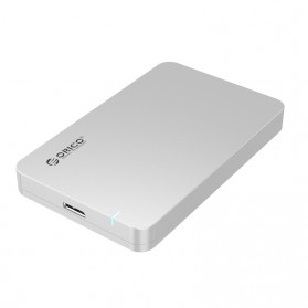 Orico 1-Bay 2.5 SATA External HDD Enclosure with USB 3.0 - 2569S3 - Silver