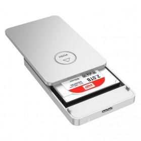 Orico 1-Bay 2.5 SATA External HDD Enclosure with USB 3.0 - 2569S3 - Silver - 4