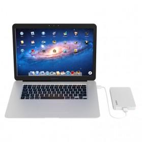 Orico 1-Bay 2.5 SATA External HDD Enclosure with USB 3.0 - 2569S3 - Silver - 5