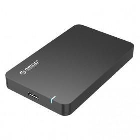 Orico 1-Bay 2.5 SATA External HDD Enclosure with USB 3.0 - 2569S3 - Black - 1