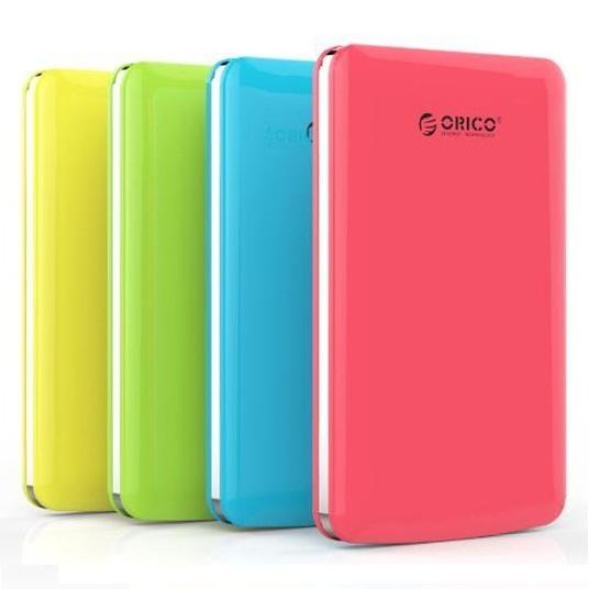 Orico 1 Bay 25 SATA External HDD Enclosure With USB 30