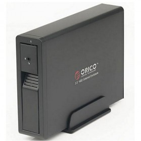Orico 1-Bay 3.5 SATA HDD Enclosure - 7618US3 - Black