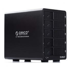 Orico 5-Bay 3.5 SATA HDD Enclosure - 9558U3 - Black