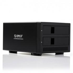 Orico 2-Bay 3.5 SATA HDD Enclosure - 9928U3 - Black