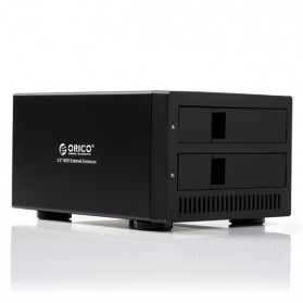 Orico 2-Bay 3.5 SATA HDD RAID Enclosure - 9928RU3 - Black - 1