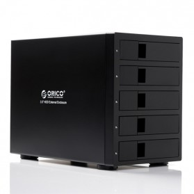 Orico 5-Bay 3.5 SATA HDD RAID Enclosure - 9958RU3 - Black