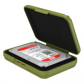 Orico 1-Bay 3.5 HDD Protection Case - PHX-35-GY - Olive Green - 2