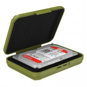 Orico 1-Bay 3.5 HDD Protection Case - PHX-35-GY - Olive Green - 4