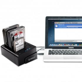 Orico 4-Bay 3.5 SATA USB3.0 HDD / SSD Docking Station - 6648US3-C-BK - Black - 2