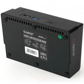 Orico 4-Bay 3.5 SATA USB3.0 HDD / SSD Docking Station - 6648US3-C-BK - Black - 7