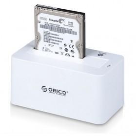 Orico USB 3.0 1394 & eSata 1-bay 2.5/3.5 HDD Docking Station - 6619SUSI3 - White