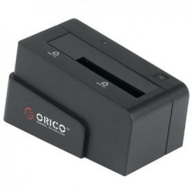 Orico SATA & eSATA 3.0 1-Bay 2.5/3.5 HDD Docking Station - 6618SUS3 - Black