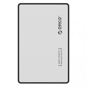 Orico 1-Bay 2.5 Inch External HDD Enclosure Sata 2 USB 3.0 - 2588US3-V1 - Silver - 2