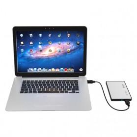 Orico 1-Bay 2.5 Inch External HDD Enclosure Sata 2 USB 3.0 - 2588US3-V1 - Silver - 6