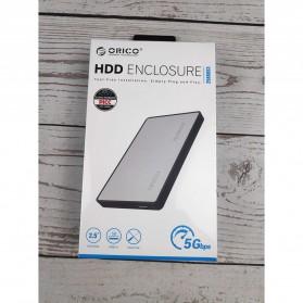 Orico 1-Bay 2.5 Inch External HDD Enclosure Sata 2 USB 3.0 - 2588US3-V1 - Silver - 7