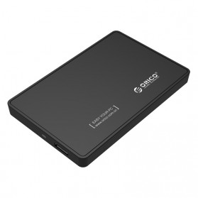Orico 1-Bay 2.5 Inch External HDD Enclosure Sata 2 USB 3.0 - 2588US3-V1 - Black - 1