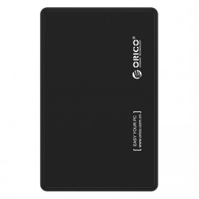 Orico 1-Bay 2.5 Inch External HDD Enclosure Sata 2 USB 3.0 - 2588US3-V1 - Black - 2