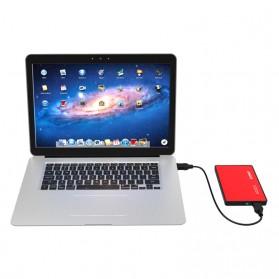 Orico 1-Bay 2.5 Inch External HDD Enclosure Sata 2 USB 3.0 - 2588US3-V1 - Red - 6