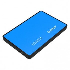 Orico 1-Bay 2.5 Inch External HDD Enclosure Sata 2 USB 3.0 - 2588US3-V1 - Blue