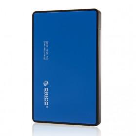 Orico 1-Bay 2.5 Inch External HDD Enclosure Sata 2 USB 3.0 - 2588US3-V1 - Blue - 2