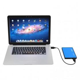 Orico 1-Bay 2.5 Inch External HDD Enclosure Sata 2 USB 3.0 - 2588US3-V1 - Blue - 5