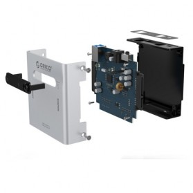 Orico Sata to USB 3.0 e-SATA HDD Duplicator Enclosure - 2012US3 - Silver - 5