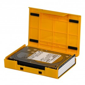 Orico 1-Bay 3.5 HDD Protection Case - PS35-5 - Yellow - 3
