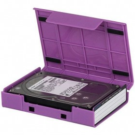 Orico 1-Bay 3.5 HDD Protection Case - PS35-5 - Purple - 3