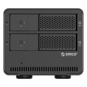 Orico 2-Bay 3.5 SATA HDD Enclosure - 9528U3-V1 - Black - 2