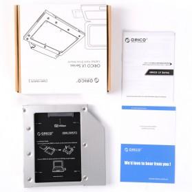 ORICO Aluminium Optical Drive HDD Mounting Bracket Adapter 12.7 mm - L127SS - 6