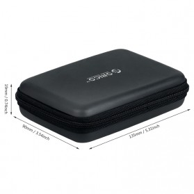 Orico 2.5 Inch HDD Protection Case Bag - PHB-25 - Black - 5
