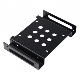 Orico Aluminium 5.25 Inch to 2.5 / 3.5 Inch HDD Caddy - AC52535-1S - Black