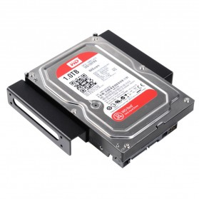 Orico Aluminium 5.25 Inch to 2.5 / 3.5 Inch HDD Caddy - AC52535-1S - Black - 3